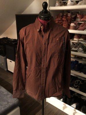 G-Star Chemise de bûcheron brun noir-brun rouge