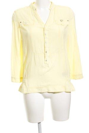 G-Star Hemd-Bluse hellgelb klassischer Stil