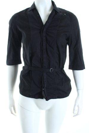 G-Star Hemd-Bluse schwarz Casual-Look