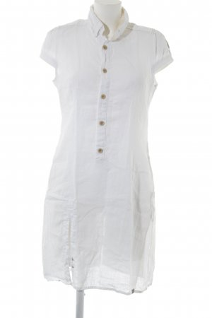 G-Star Hemdblusenkleid weiß Boho-Look