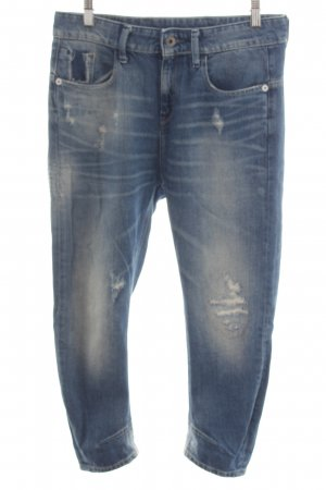 G-Star Jeans taille haute bleu style seconde main