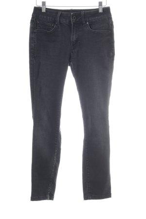 G-Star High Waist Jeans schwarz Farbverlauf Casual-Look