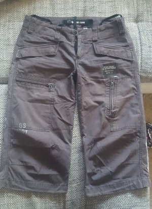 G-Star 3/4 Length Trousers dark brown cotton