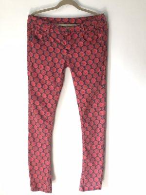 G-Star Raw Five-Pocket Trousers black-brick red