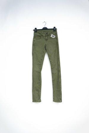 G-Star Raw Pantalone a sigaretta verde oliva