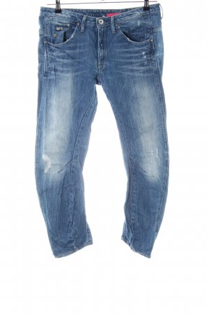 G-Star Hüftjeans blau Casual-Look