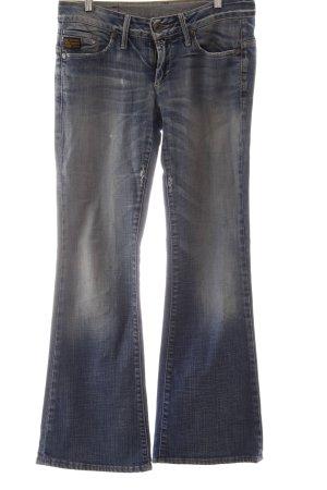 G-Star Low Rise Jeans blue acid wash