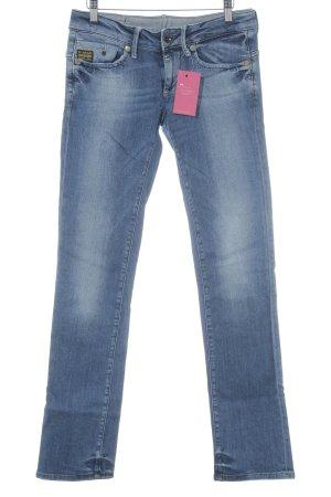 G-Star Jeans vita bassa blu stile jeans