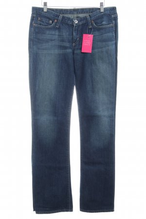 G-Star Low Rise Jeans blue flecked casual look