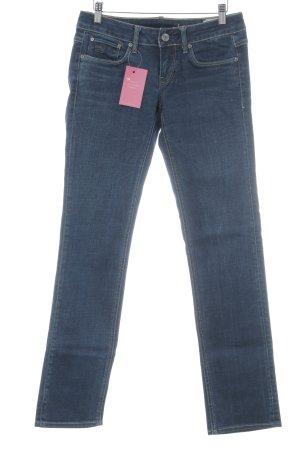 G-Star Jeans vita bassa blu scuro stile jeans