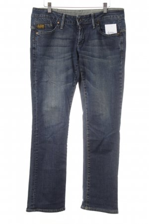 G-Star Low Rise Jeans dark blue simple style