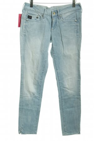 G-Star Low Rise Jeans light blue washed look