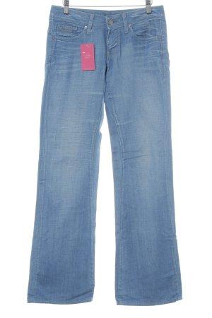 G-Star Jeans vita bassa blu fiordaliso stile jeans