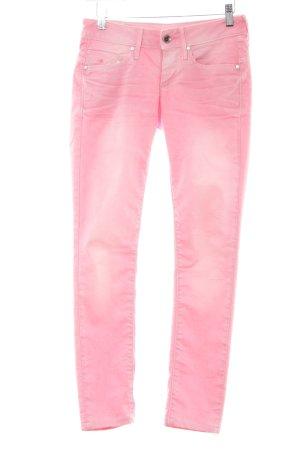 G-Star Hüftjeans rosa-weiß Casual-Look
