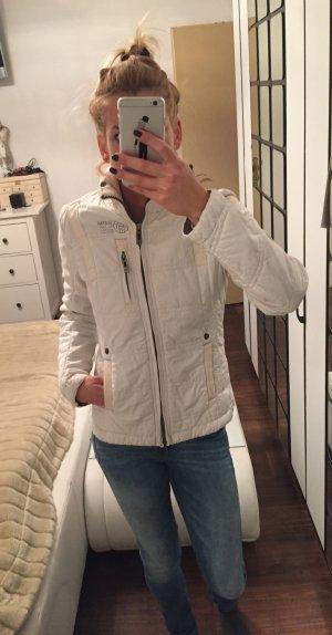 G-Star Jacke Kurzjacke Steppjacke weiß creme Gr. XS