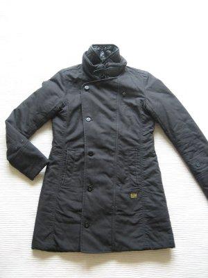 g-star jacke kurzmantel neuwertig gr. s 36 schwarz winter
