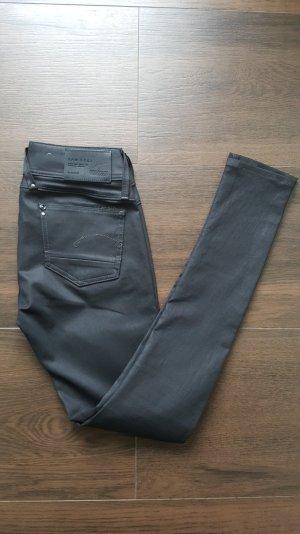 G-Star Jeans 27/32 Lynn Skinny anthrazit/schwarz