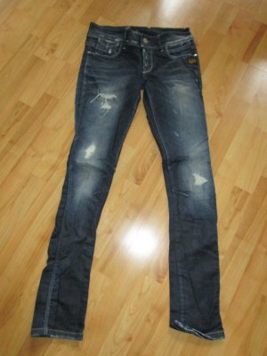 G-Star Raw Jeans cigarette bleu foncé
