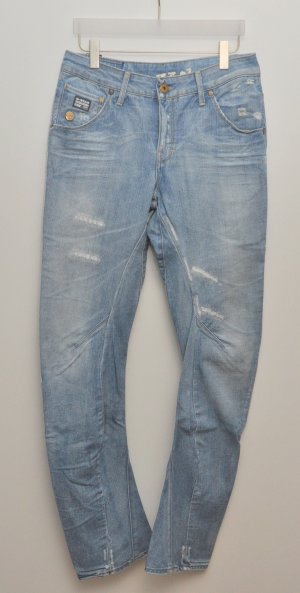 G-STAR Jeans ARC LOOSE TAPERED WMN blau used destroyed Boyfriend Gr. 30 | 34