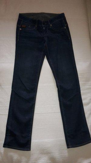 G-Star Jeans (gerades Bein), dunkelblau, Gr.27/32