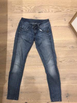 G-Star Tube jeans staalblauw