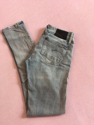 G-Star Jeans, LYNN SKinny, Größe 29/32, coole Waschung