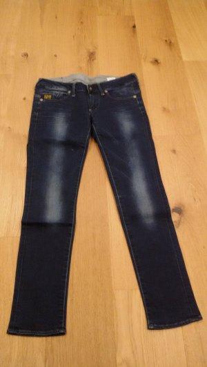 G-Star Skinny jeans donkerblauw