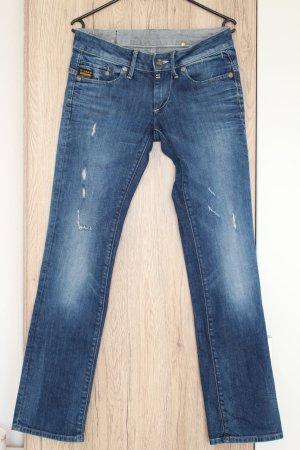 G-Star Jeans Migde Straight 29/32 Mittelblau