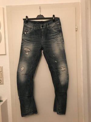 G-Star Jeans boyfriend blu pallido Cotone