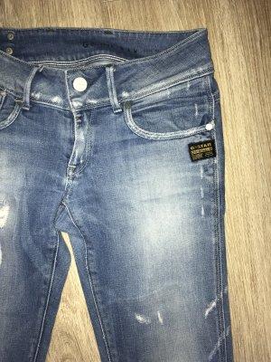 G-Star Jeans W26/30.  Blue/ destroyed