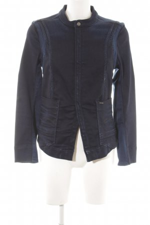 G-Star Denim Blazer dark blue-steel blue casual look