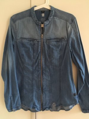 G-Star Jeans blouse azuur-staalblauw