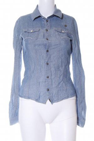 G-Star Jeanshemd blau Casual-Look