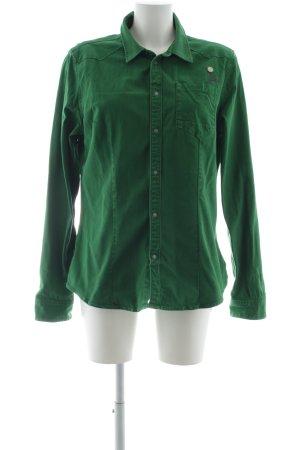 G-Star Spijkershirt groen extravagante stijl