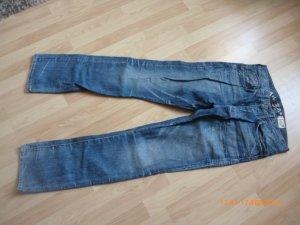 G-Star Spijkerbroek staalblauw-korenblauw Katoen