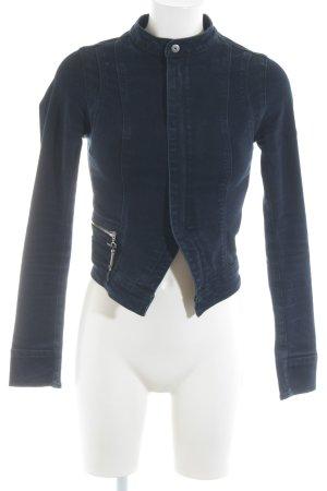 G-Star Jeansjacke dunkelblau schlichter Stil
