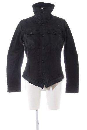 G-Star Veste en jean noir style décontracté