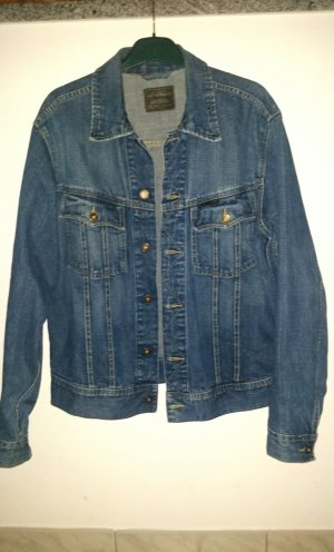 G-Star Jeansjacke Herren Gr. 48 M mittelblau Light used look