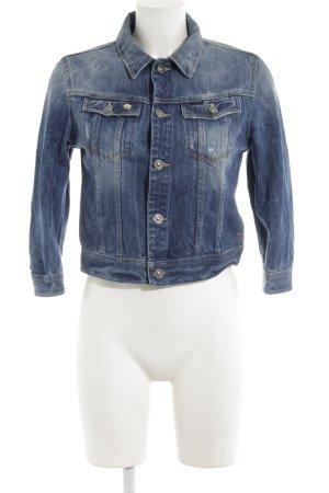 G-Star Veste en jean bleu acier style décontracté