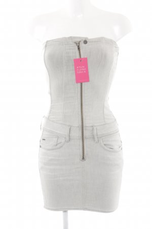 G-Star Jeansjurk licht beige casual uitstraling