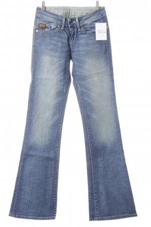 G-Star Jeansschlaghose blau Bleached-Optik