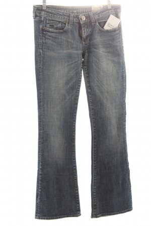 G-Star Jeansschlaghose blau Used-Optik