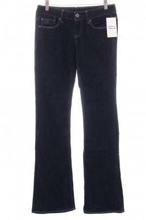 G-Star Jeansschlaghose dunkelblau Casual-Look