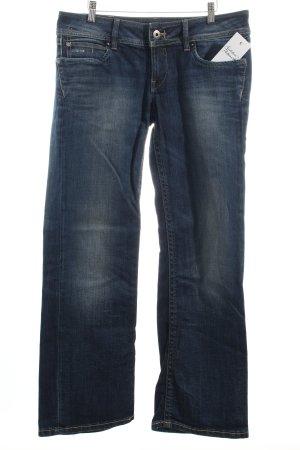 G-Star Jeansschlaghose dunkelblau Casual-Look