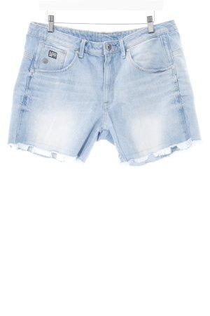 G-Star Jeansshorts himmelblau Jeans-Optik