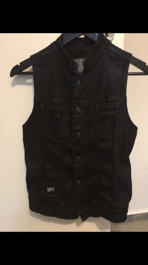 G-Star Raw Denim Vest dark blue
