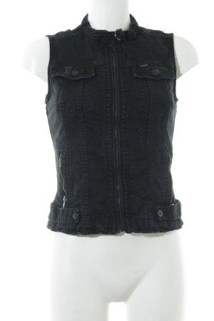 G-Star Jeansweste schwarz Casual-Look