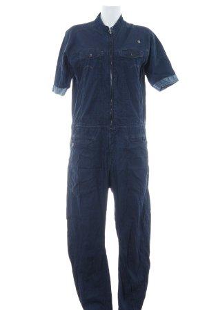 G-Star Jumpsuit dunkelblau Casual-Look