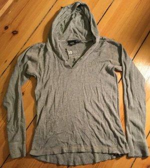 G-Star Capuchon sweater lichtgrijs