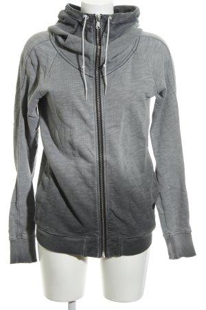 G-Star Veste à capuche gris clair style décontracté